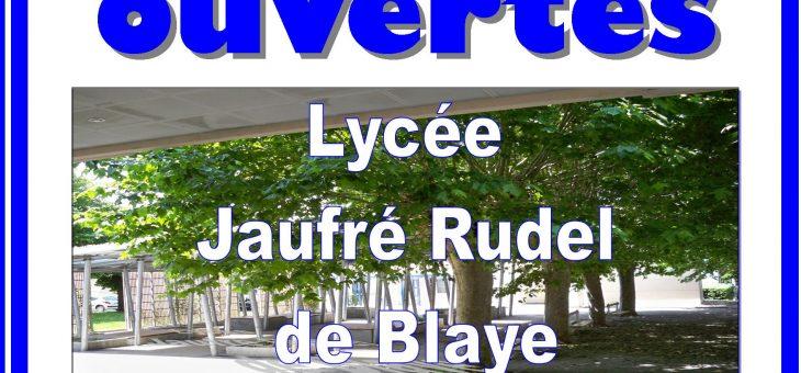 PORTES OUVERTES DU LYCEE – samedi 18 mars 2017