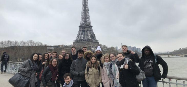 Voyage à Paris du CVL