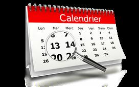 Dates de fin des cours et demi-pension
