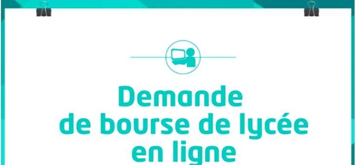 DEMANDES DE BOURSES DE LYCEE EN LIGNE