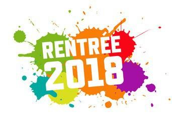 RENTRÉE 2018