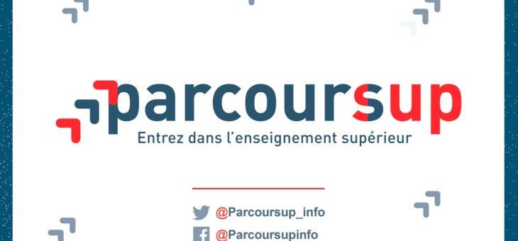 PARCOURSUP – diaporama d'information et calendrier
