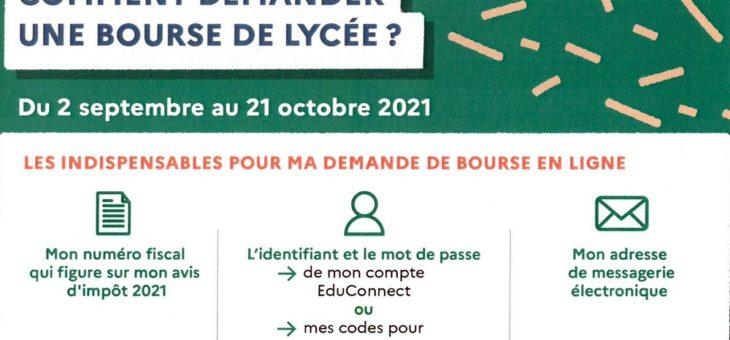 CAMPAGNE DE BOURSES
